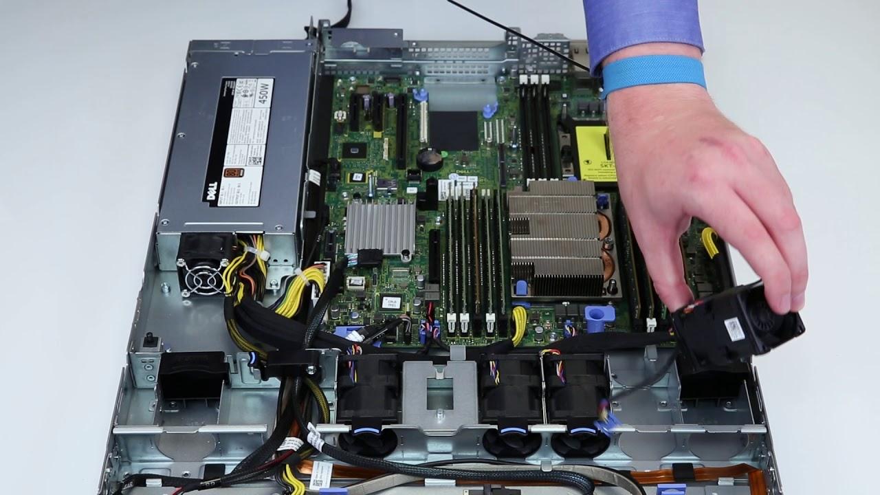 Dell EMC PowerEdge R440: Remove/Install Fan