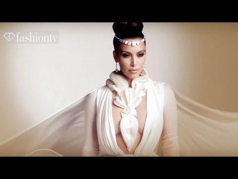 Kim Kardashian is UNVEILED in Stephane Rolland Couture | presented by MoDa's Touch | FashionTV