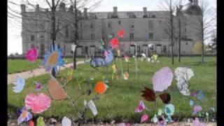 jardin fantastique et contemporain au Château d