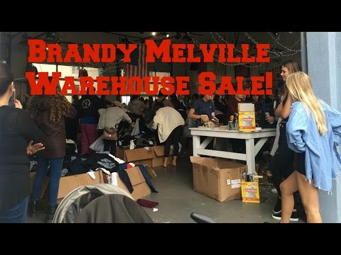 Brandy Melville Warehouse Sale! Experience and Haul