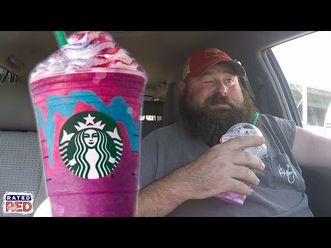 Alabama Boss Tries Starbucks' Unicorn Frappuccino