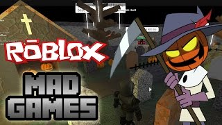 Roblox: Mad Games Halloween!