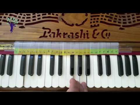 Harmonium Tutorials on Vaishnav Bhajans Gaurang bolite habe pulaka sarira