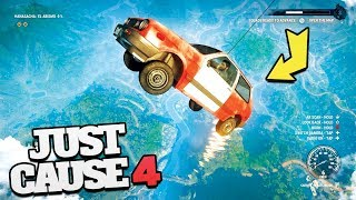 Just Cause 4 Funny Moments!! (Just Cause 4 Grapple Hook Mods)