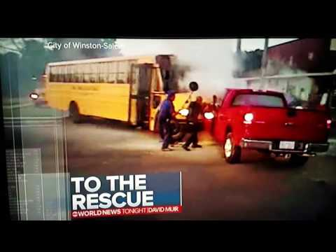 World News Open Bus Wreck