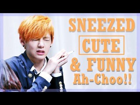 K-POP IDOLS VS SNEEZING