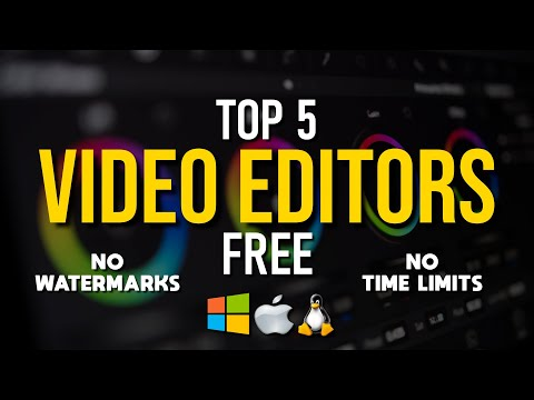 Top 5 Best FREE Software for Video Editing (2019)