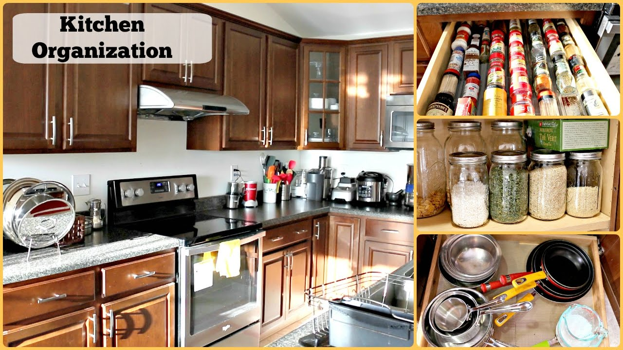 Apartment Kitchen Cabinet Organization