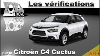 Citroen C4 Cactus: vérifications et sécurité routière