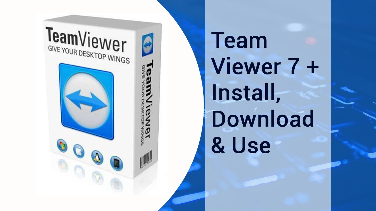 Team Viewer 7 + Install, Download & Use | video tutorial by TechyV
