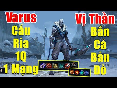 [LOL Mobile] Gcaothu cầm Varus cấu rỉa xa 1 Q 1 Mạng - Bắn cả bản đồ như vị thần | Tốc Chiến