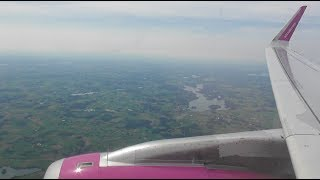 Wizz Air Airbus A321-231 | London Luton to Gdansk *FULL FLIGHT*