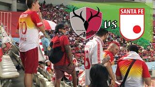 Kashima Antlers vs Santa Fe 0-1   Nice Guys from Bogotá Colombia Meet Fanatic Kashima Supporters