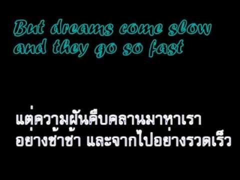 Let Her Go - Passenger - Lyrics with Thai Translate แปลไทย