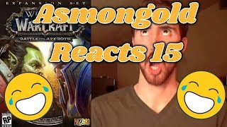 """Asmongold reacts to the new weapon models of patch 8.1! """"Here is whats important"""""""