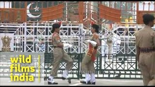 Repeat youtube video India-Pakistan Wagah border and amusing display of one-upmanship!