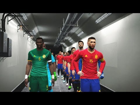 Semi Final | Spain vs Senegal Full Match | FIFA World Cup 2018 Russia | PES Gameplay