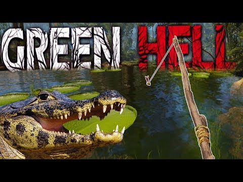Fishing Around the Deadliest of Predators - THIS IS SO DANGEROUS - Green Hell Gameplay