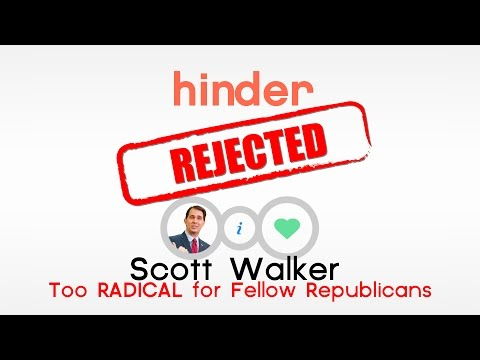 Hinder: Republicans Reject Radical Scott Walker