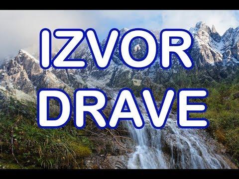 Izvor i gornji tok Drave / Drava source and upper stretches