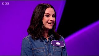 Pointless Celebrities: BBC Music Day. Amy McDonald. 30 Sep 18