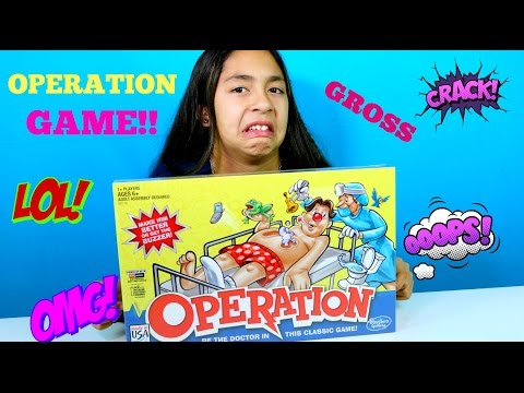 OPERATION GAME!! I'm a Doctor | Family Games |B2cutecupcakes