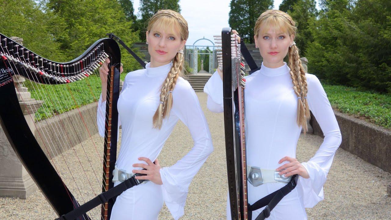 Harp twins nude