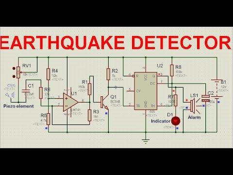 earthquake detector circuit avi youtubeearthquake detector circuit avi