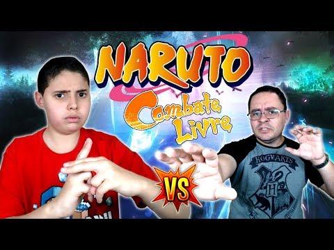 ENSINANDO MEU PAI A JOGAR NARUTO! - Gameplay Naruto Shippuden Ultimate Ninja Storm 4 (PT-BR)