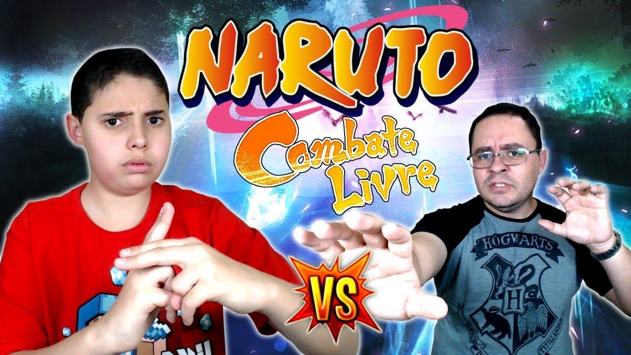 JPDRAGON - ENSINANDO MEU PAI A JOGAR NARUTO! - Gameplay Naruto Shippuden Ultimate Ninja Storm 4 (PT-