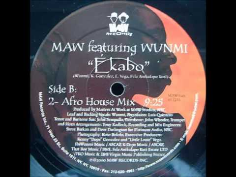 Masters at Work feat. Wunmi - Ekabo (Afro House Mix)