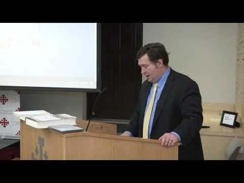 Cameron D. Jones - Junípero Serra and Beyond Conference, October 22, 2016