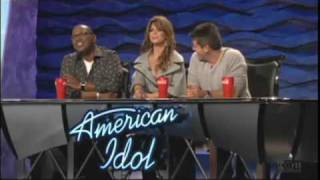 Paula Abdul farts on Simon
