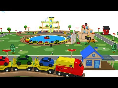 Choo Choo Train - Toy Train - Toy Factory - Trains for kids - Videos for kids - Train Cartoon
