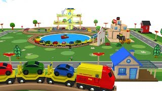 Choo Choo Train - Toy Train - Toy Factory - Trains for kids - Videos for kids - Train Cartoon