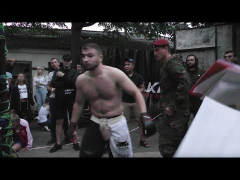 Soldier of War vs MMA Fighter !!! fight in Mountains of Dagestan.