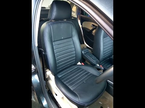 Volkswagen Ameo Car Seat Covers | Genuine Leather Interior Seat ...