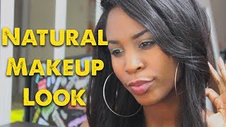 Natural Makeup Look Tutorial! (highly requested) Thumbnail