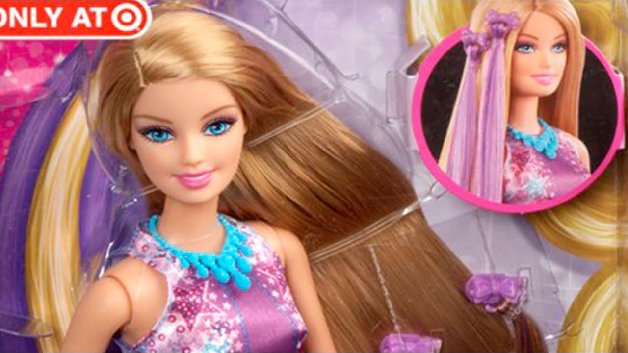Barbie Hairtastic Lalka Barbie Bajeczne Fryzury Wwwmegadyskont