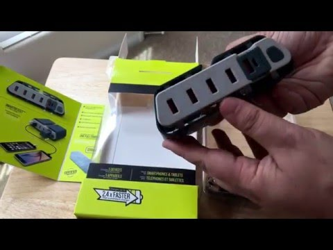 TYLT ENERGI Desktop Charging Station With Battery Unboxing 4-10-16