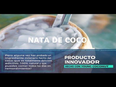 Nata de coco / Hecha en Colombia