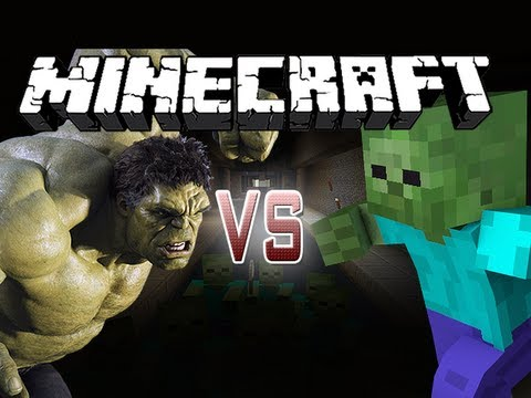 Save Minecraft Battle - The Hulk VS GIANT ZOMBIES!! Images