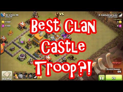 Clash Of Clans - Best Clan Castle Troop Ever?!