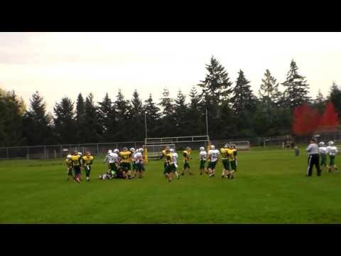 Crossler Middle School vs Straub Middle School Football Game