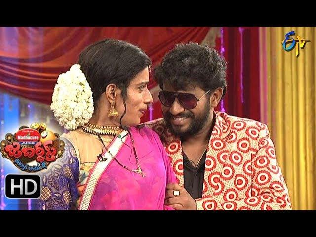Hyper  Aadi Raijing Raju Performance | Jabardsth | 17th August 2017| ETV  Telugu
