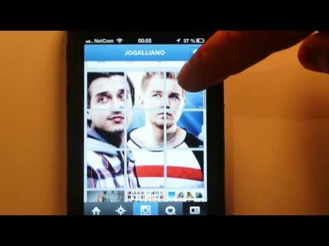 How to make big pictures on Instagram (banner pictures) - Giant Square