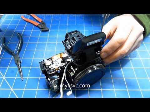 """Sony """"Camera Error"""" Repair SLT A55 A33 Part 2 Assembly"""