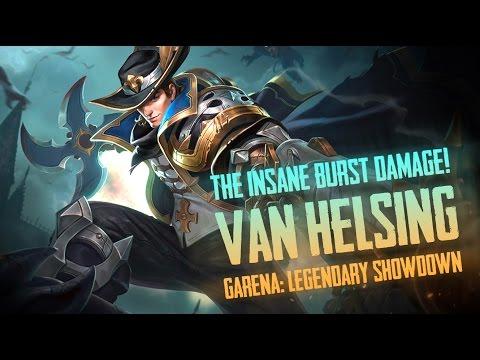 Garena Legendary Showdown: INSANE BURST! GLS [Van Helsing] Gameplay