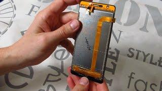 жК дисплей с сенсором для Oukitel K4000  Инструменты  чехол. Распаковка