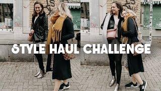 STYLE HAUL CHALLENGE  Outfits aus unseren eigenen Kleiderschränken